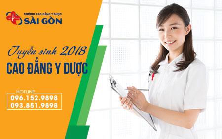 Thông tin tuyển sinh trường Cao đẳng Y Dược Sài Gòn 1