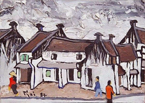 Tìm hiểu xu hướng tranh sơn dầu Hà Nội đang được thịnh hành hiện nay