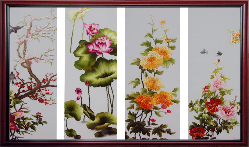 Tranh sơn dầu 4 mùa- xu hướng tranh trang trí được ưa chuộng hiện nay