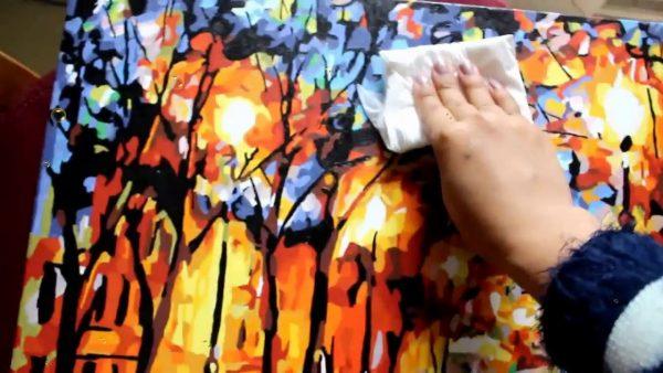 Tranh sơn dầu số hóa là gì? Một số điều cần biết về tranh sơn dầu số hóa